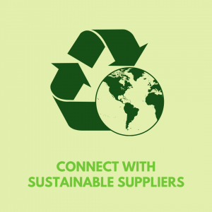connect with sustainable suppliers